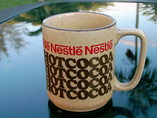 """NESTLE HOT COCOA SPECKLED BUTTERSCOTCH COLORED VINTAGE MUG MADE IN JAPAN 3.5"""""""