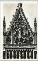 REIMS Carte France ~1950/60 CPA Cathédrale Kirche Dom Frankreich AK