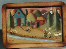 HELEN CAVIN Country Cupboard Decorative Tole Painting Pattern Packet