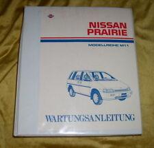 Werkstatthandbuch Nissan Prairie M11 ab 1990