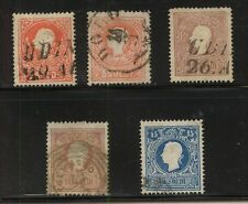 Austria-Lombardy 10-12   used  with duplication  catalog  $197.00       MS0624