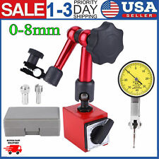 New Universal Flexible Magnetic Metal Base Holder Stand Dial Test Indicator Tool