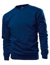 Stedman hombre sudadera Sweats Cuello Redondo S s-3xl Camiseta 10 Colores