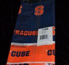 Syracuse University Plastic Table Cover College Collegiate 54 in x 108 in NIP