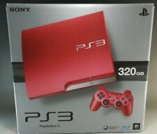 SONY PS3 New PlayStation3 Console System 320GB Scarlet Red F/S