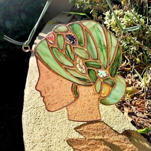 Mother Earth Ornament Pendant Home Door Window Wall Hanging Outside DIY Art Deco