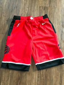 Nike NBA Shorts Toronto Raptors KINDER Gr. M | Rot | NEU