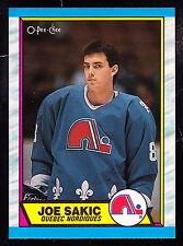 1989-90 O-PEE-CHEE #113 JOE SAKIC NORDIQUES ROOKIE