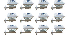 White Color Solar Light Post Cap Dual SMD Wall Mount or Post (12 Pack) PL254W