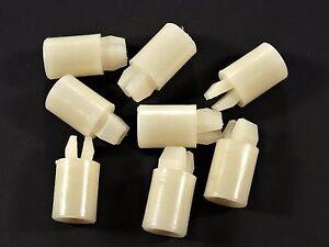 """Pontiac Nylon Spacer Nuts- Bezel, Trim, Grille, etc.- 5/8"""" Long- 8 pcs- #035"""