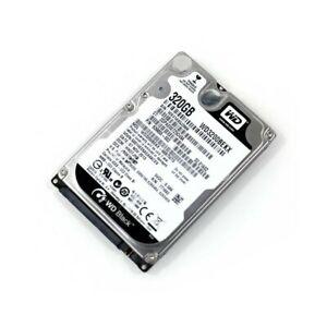 HARD DISK HDD WD 320GB SATA 2,5? LAPTOP NOTEBOOK WESTERN DIGITAL WD3200BEKX-