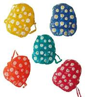 PVC INFLATABLE BACK PACK WITH FLOWER DECORATIONS DAISY BAGS 28-96 28-86