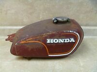 Honda 350 CL SCRAMBLER CL350-K5 Used Original Gas Fuel Tank 1973 #MS
