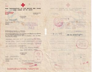 , GERMAN OCCUPATION OF GUERNSEY 1942  RED CROSS LETTER