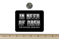 3 x 4 Biker Refrigerator Magnet In Need Of Cash  BM499