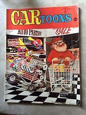 June 1969 Cartoons Hot Rod Auto Racing Drag Race Car Comic Book Toons