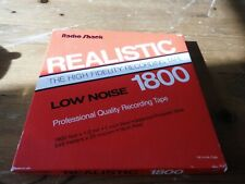 More details for realistic low noise  tape 1800 7