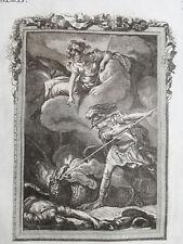 Metamorphoses Mythology Ovid Decorative Print Agenor Dragon - 1790