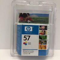 HP 57 Tri Color Ink Cartridge Expired Apr 2006 Inkjet Print Cartridge