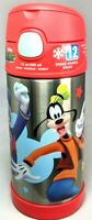 Thermos Funtainer Mickey Mouse Donald Goofy Stainless Steel Insulated 12oz Kids