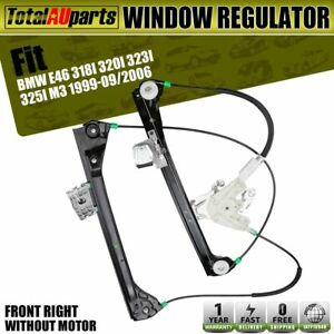 Front Right Window Regulator for BMW 3 Series E46 M3 1999-09/2006 Coupe 2-Door