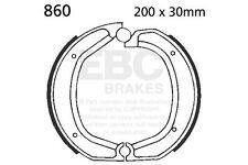 POUR BMW R75/6 (Simple rotor) 75/7 73>79 EBC Uni Patin Arrière Gauche