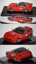 Hotwheels Elite Ferrari 599 XX 2009 rouge 1/43 T6263