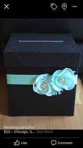 Wedding Card Gift Box
