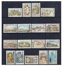 More details for mauritius - 1978, 15c - 25r set (less 35c, 70c, 90c) - used - sg 529a/548a