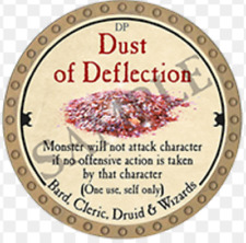 True Dungeon Token - Dust of Deflection