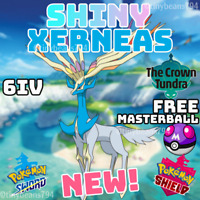 🔥SHINY XERNEAS🔥6IV AVAILABLE NOW🔥Pokemon Sword and Shield🔥