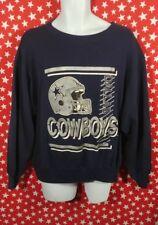 Vtg 80s 90s CHAMPION Dallas Cowboys Sweatshirt Adult Medium Retro