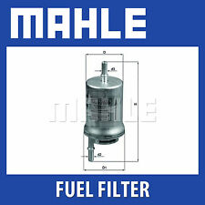 Mahle Fuel Filter KL176/6D - Fits Seat, Skoda, VW - Genuine Part