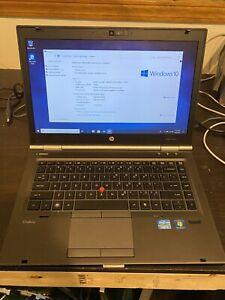 "HP EliteBook 8460w 14"" Intel i7-2860QM 2.5ghz 8GB Ram 128gb SSD FirePro M3900"