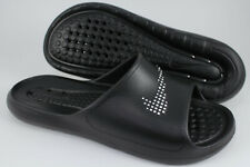 NIKE VICTORI ONE SHOWER SLIDE BLACK/WHITE WATERPROOF SPORT SANDALS KAWA MEN SIZE