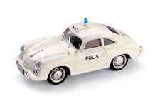 Porsche 356C Polis Finnish Police Car 1952 1:43 1998 Model R198F BRUMM