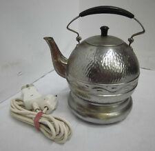 50er 60er Maybaum Teekocher Wasserkocher Chrom Vintage 50s 60s