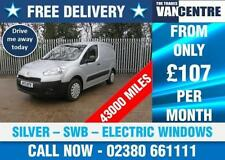 Peugeot SWB Commercial Vans & Pickups with Driver Airbag