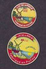 Ancienne étiquette Fromage France  BN14421 Le Tic tac du Moulin