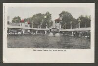 [71331] OLD POSTCARD THE CHUTES, WHITE CITY, WEST HAVEN, CONN.