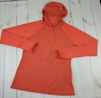 The North Face Womens Size M Flash Dry Coral Lightweight Hooded Pullover