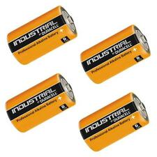 4x Duracell INDUSTRIAL Procell 1.5V Type D Cell MN1300 LR20 Alkaline Batteries
