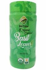 New listing McCabe Organic Sun-Dried Crushed Basil Leaves, 75g