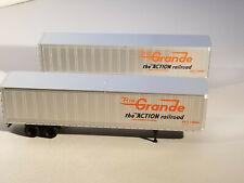 HO Athearn 45'  Rio Grande Piggyback trailers, new in box