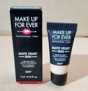 """Make Up For Ever❤Matte Velvet Skin 24H Foundation❤""""Y315""""❤0.16oz/5ml❤New In Box"""