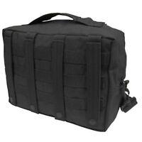 Condor 137 Black MOLLE Modular Tactical Mesh Lined Utility Shoulder Carry Bag