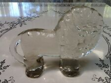 Glass Lion Erik Hoglund Kota Boda Zoo Series Vintage Retro Sweden