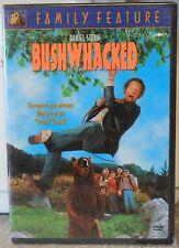 Bushwhacked (DVD, 2003) VERY RARE COMEDY ORIGINAL RELEASE VERSION BRAND NEW