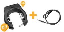 Fahrradschloss + Einsteckkabel mit Halterung,- I LOCK IT GPS Sicherheits-Set