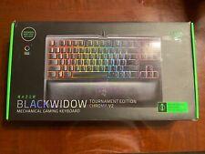 New listing Razer BlackWidow Tournament Edition Chroma V2 Rz03-02190100-R3M1 Wireless.